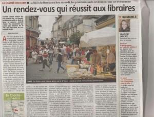 15è nuit du livre la Charité sur Loire, biographe Caroline DEBY