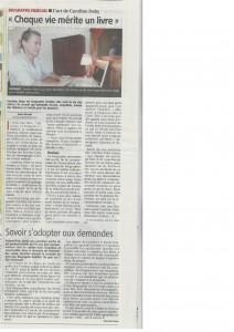 journal du centre 07/08/15